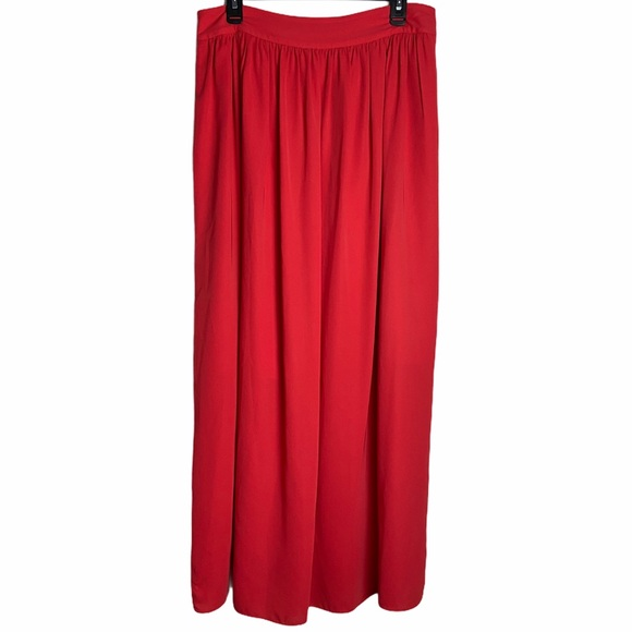 Banana Republic Red holiday skirt size 10